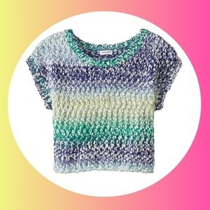 Splendid Girls Multicolor Sweater Top NWT